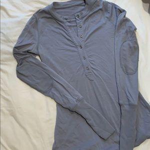 Light purple lululemon long sleeved top